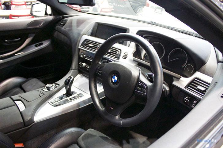BMW 6シリーズ 640i グランクーペの内装