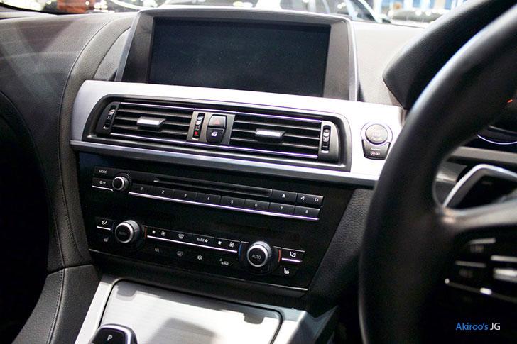 BMW 6シリーズ 640i グランクーペのナビ