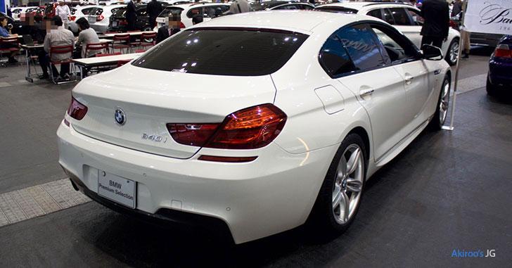BMW 6シリーズ 640i グランクーペのリア