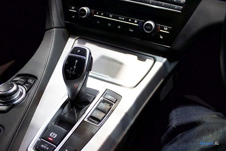 BMW 6シリーズ 640i グランクーペのシフト
