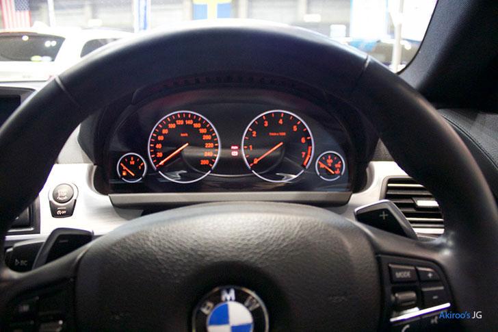BMW 6シリーズ 640i グランクーペのステアリング