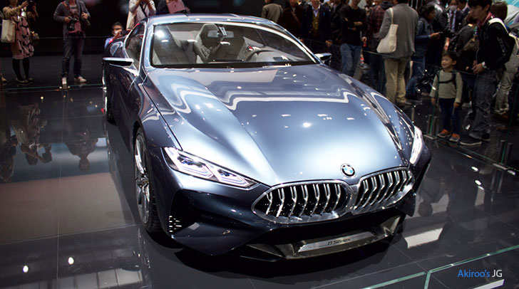 BMWコンセプト8シリーズのフロント
