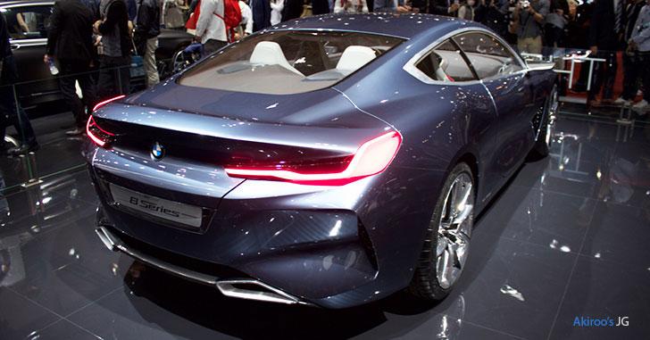 BMWコンセプト8シリーズのリア