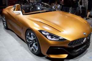 BMW Z4 Conceptのフロント