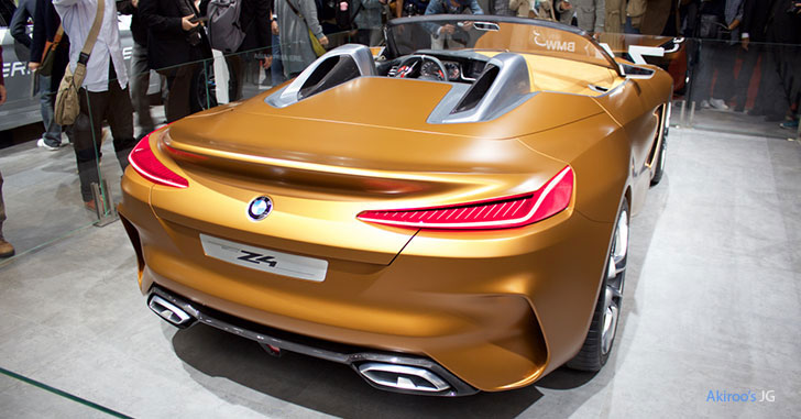 BMW Z4 Conceptのリア