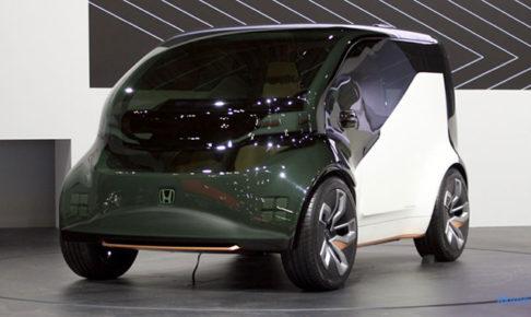 Honda NeuVのフロント