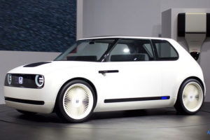 Honda Urban EV Conceptのフロント