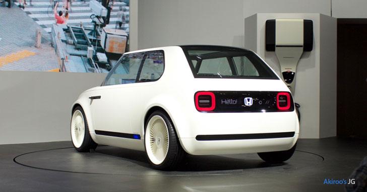 Honda Urban EV Conceptのリア