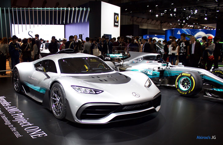 Mercedes-AMG Project ONEとF1マシン