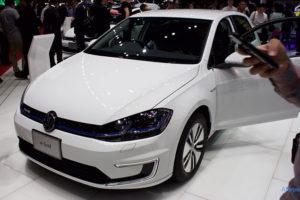 VW e-ゴルフのフロント