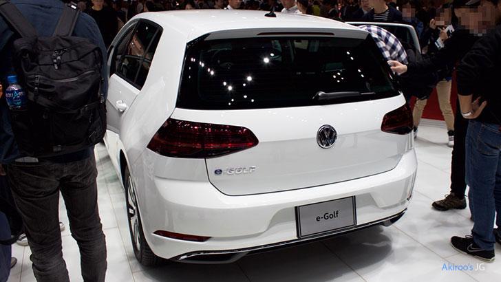 VW e-ゴルフのリア