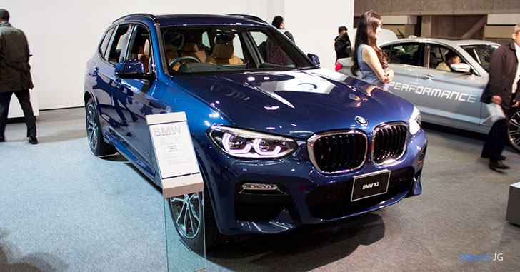BMW X3シリーズ X3 xDrive20d M Sportのフロント