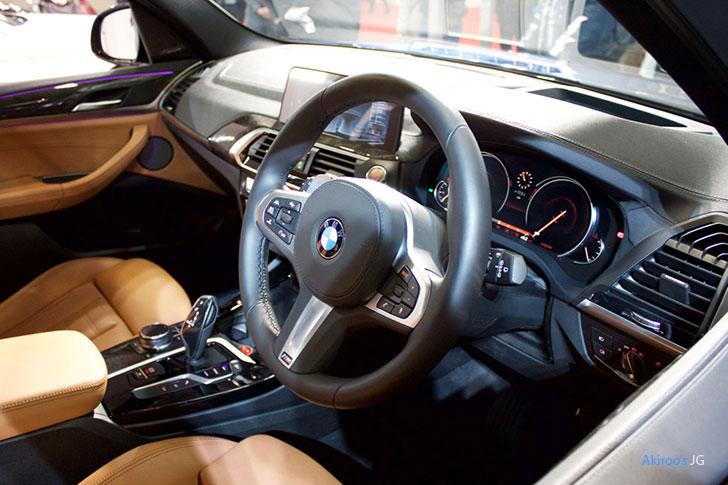BMW X3シリーズ X3 xDrive20d M Sportの内装