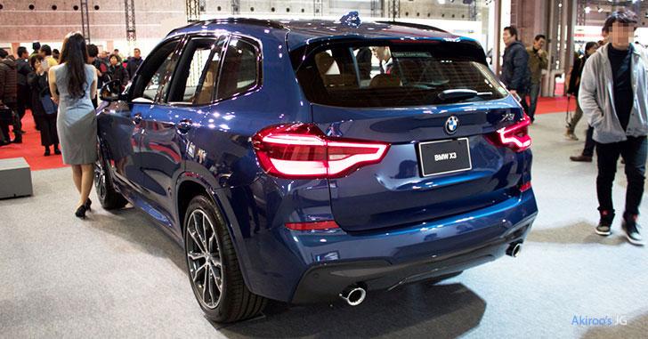 BMW X3シリーズ X3 xDrive20d M Sportのリア