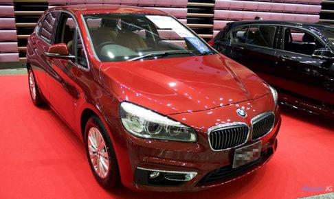 BMW 2シリーズ アクティブツアラーのフロント