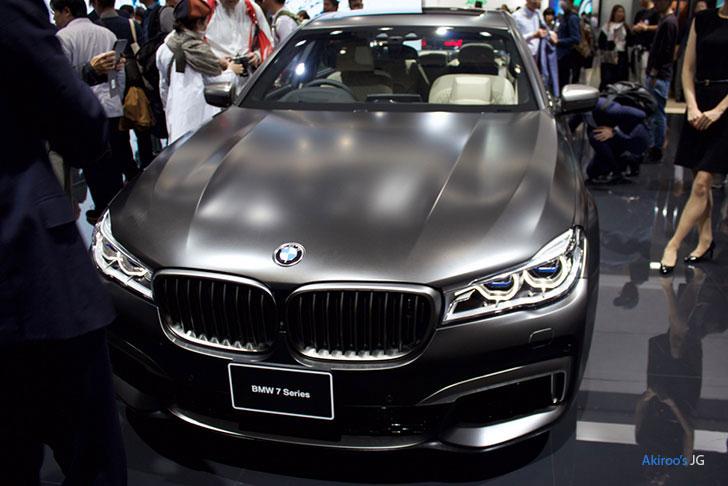 BMW 7シリーズ M760Liのフロント
