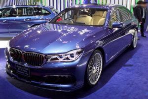 BMW アルピナ B7 ビターボ リムジン ロングのフロント