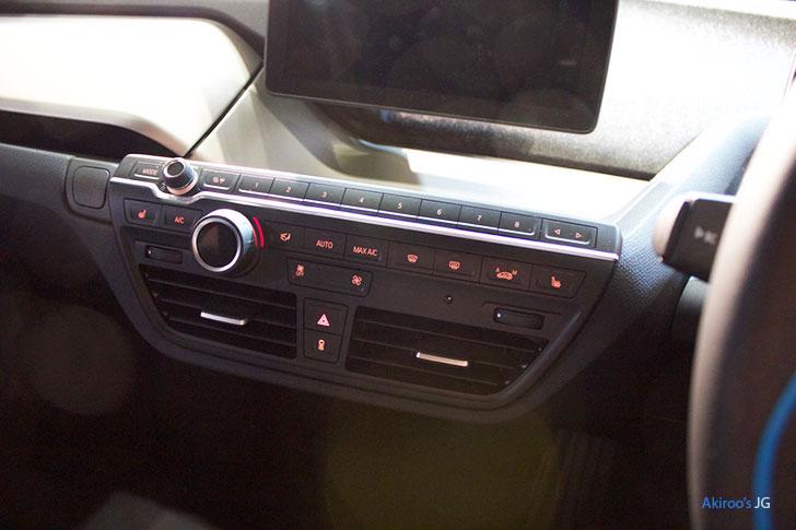 BMW i3 アトリエ レンジエクステンダー付きのエアコン
