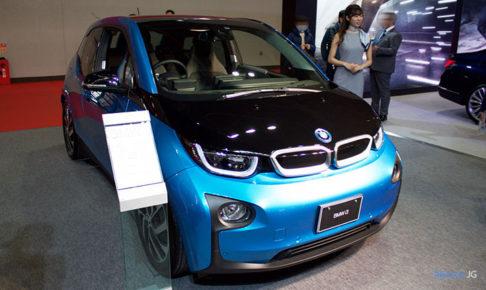BMW i3 アトリエ レンジエクステンダー付きのフロント