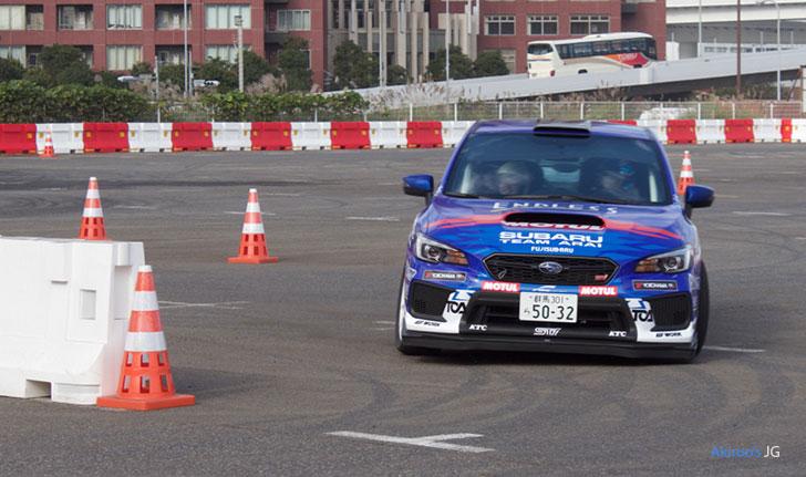 富士スバル・アライスポーツWRXのフロント