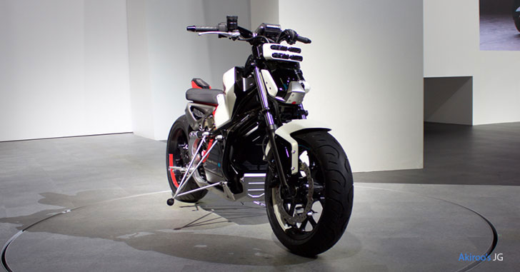 Honda Riding Assist-eのフロント