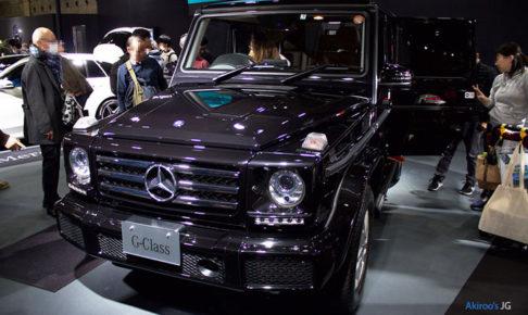 メルセデスベンツGクラスG350dのフロント