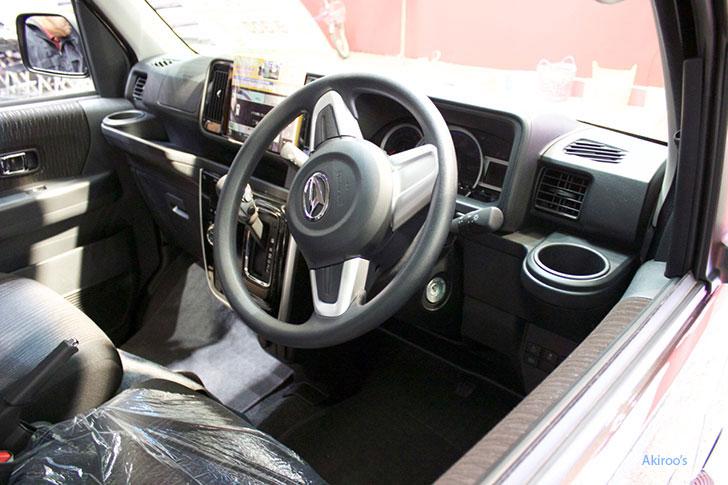 ダイハツ アトレーワゴン カスタム ターボ RSの内装