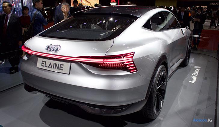 「Audi Elaine concept」のリア