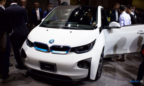 「BMW i3 SUITE レンジ・エクステンダー装着車」のフロント