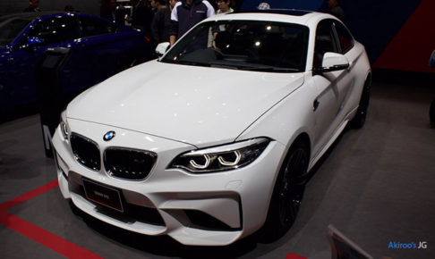 「BMW M2 クーペ」のフロント