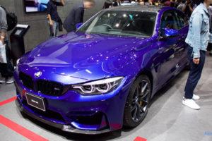 「BMW M4 CS クーペ」のフロント