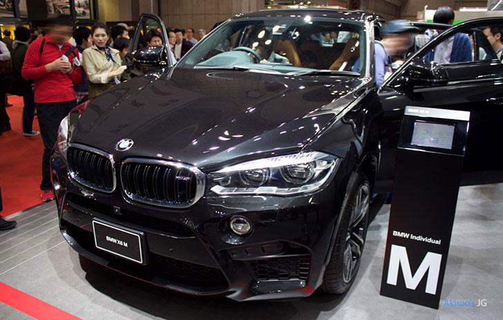 「BMW X6 M」のフロント