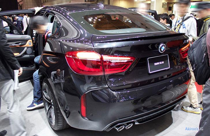 「BMW X6 M」の外観