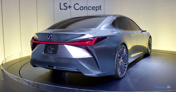 「レクサス LS+ Concept」のリア