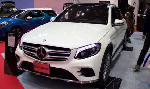 メルセデスベンツ GLCクラス GLC 350eのフロント