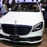 「Mercedes-Maybach S 650」のフロント