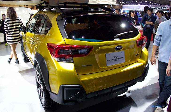 「SUBARU XV FUN ADVENTURE CONCEPT」のリア