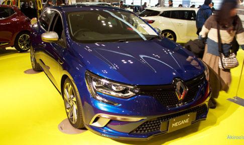 ルノー・メガーヌ GTのフロント