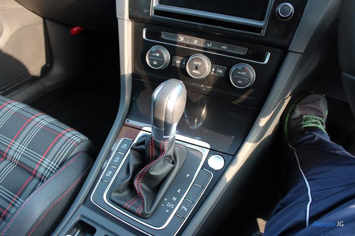 VW ゴルフ GTIのDSG