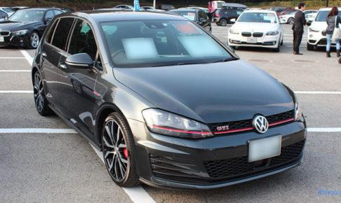 VW ゴルフ GTIのフロント