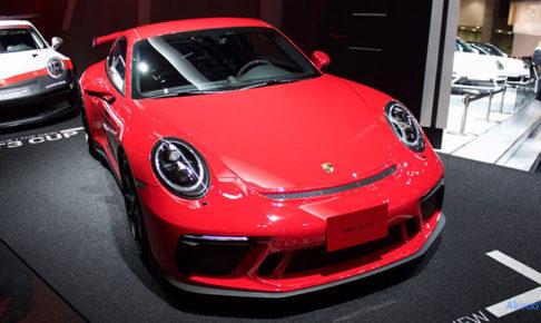 ポルシェ 911 GT3のフロント