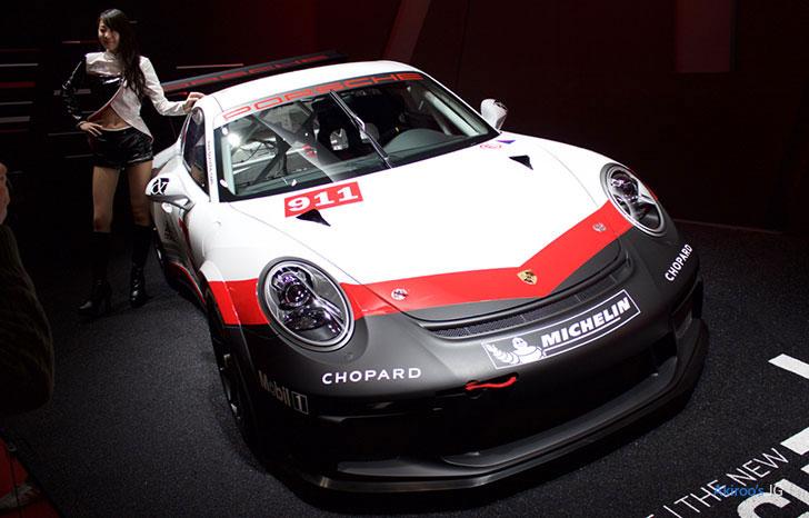 ポルシェ 911 GT3 CUPのフロント