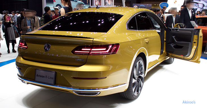 VW アルテオンのリア
