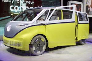 VW I.D. BUZZのフロント