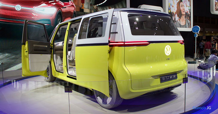 VW I.D. BUZZのリア