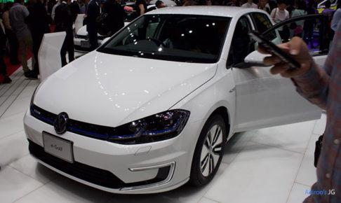 「VW e-Golf」のフロント