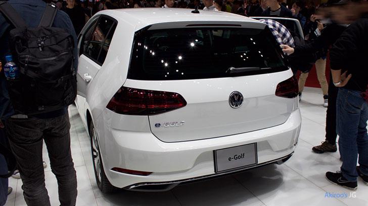 「VW e-Golf」のリア