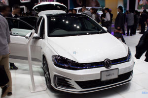 「VW Golf GTE」のフロント