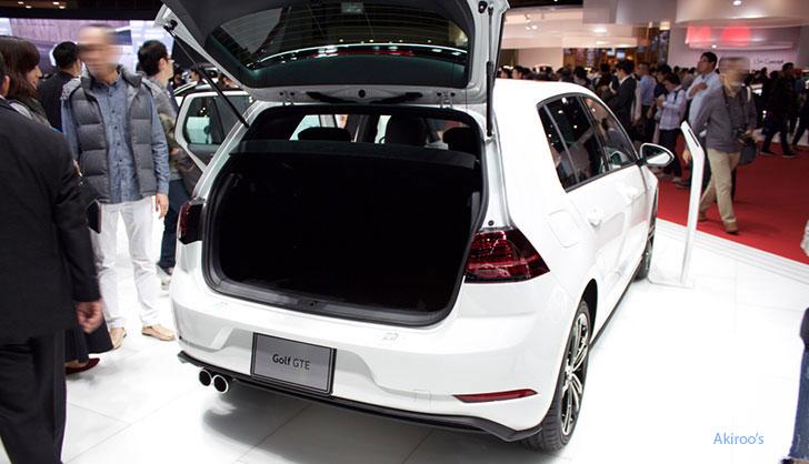 「VW Golf GTE」のリア