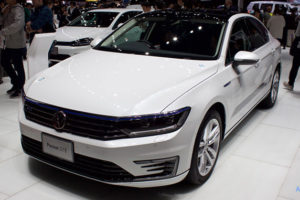 「VW Passat GTE Advance」のフロント